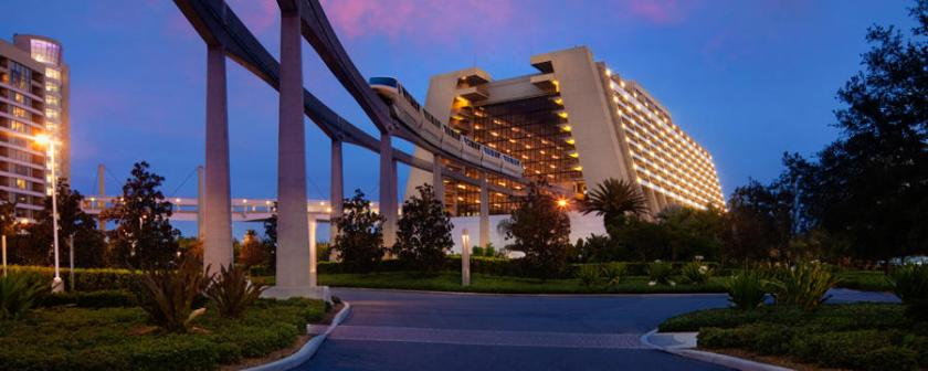 The Contemporary Resort - Photo Credit: Walt Disney World